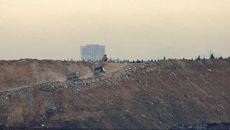 В Мытищах зафиксировано незаконное расширение территории мусорного полигона