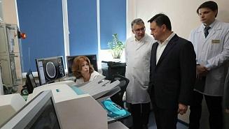 Губернатор Подмосковья побывал с рабочей поездкой в Красногорске